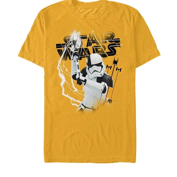 Star Wars Other - STAR WARS Storm Trooper Yellow Tee